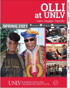 Spring 2021 OLLI Catalog cover
