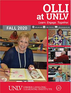 Fall 2020 OLLI Catalog cover