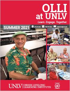 summer 2021 OLLI Catalog cover