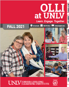 image of Fall 2021 OLLI Catalog cover